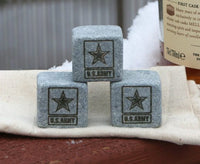 Army Whiskey Stones - Proudly Made In America