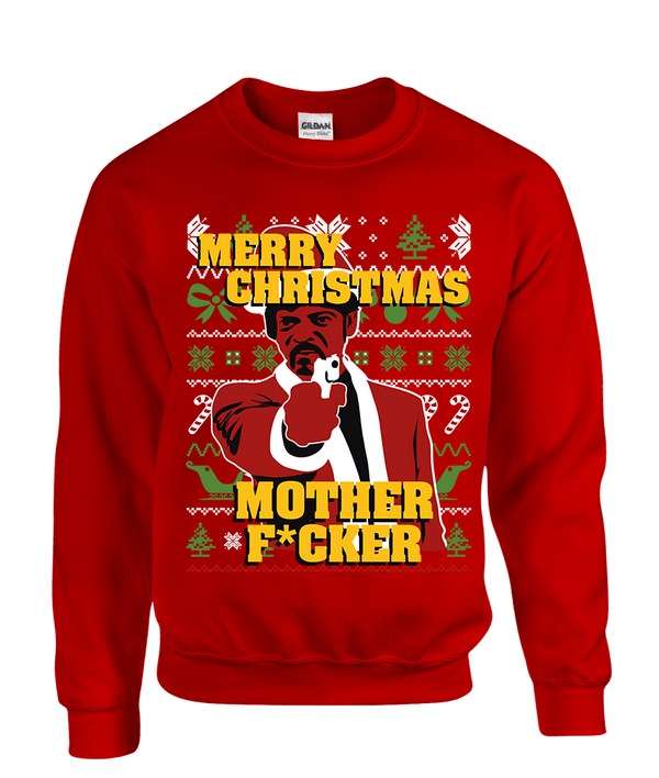 Merry Christmas Motherfckr Ugly Christmas Sweater