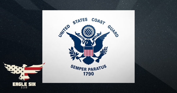 "U.S. Coast Guard Decal 4"" x 3"""