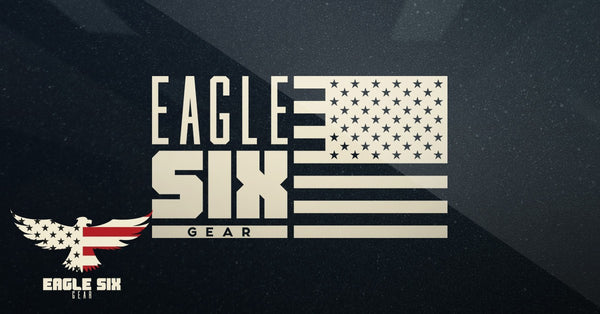 "Eagle Six Gear Decal 4"" x 2"""