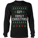 Guy Family Christmas Ugly Sweater