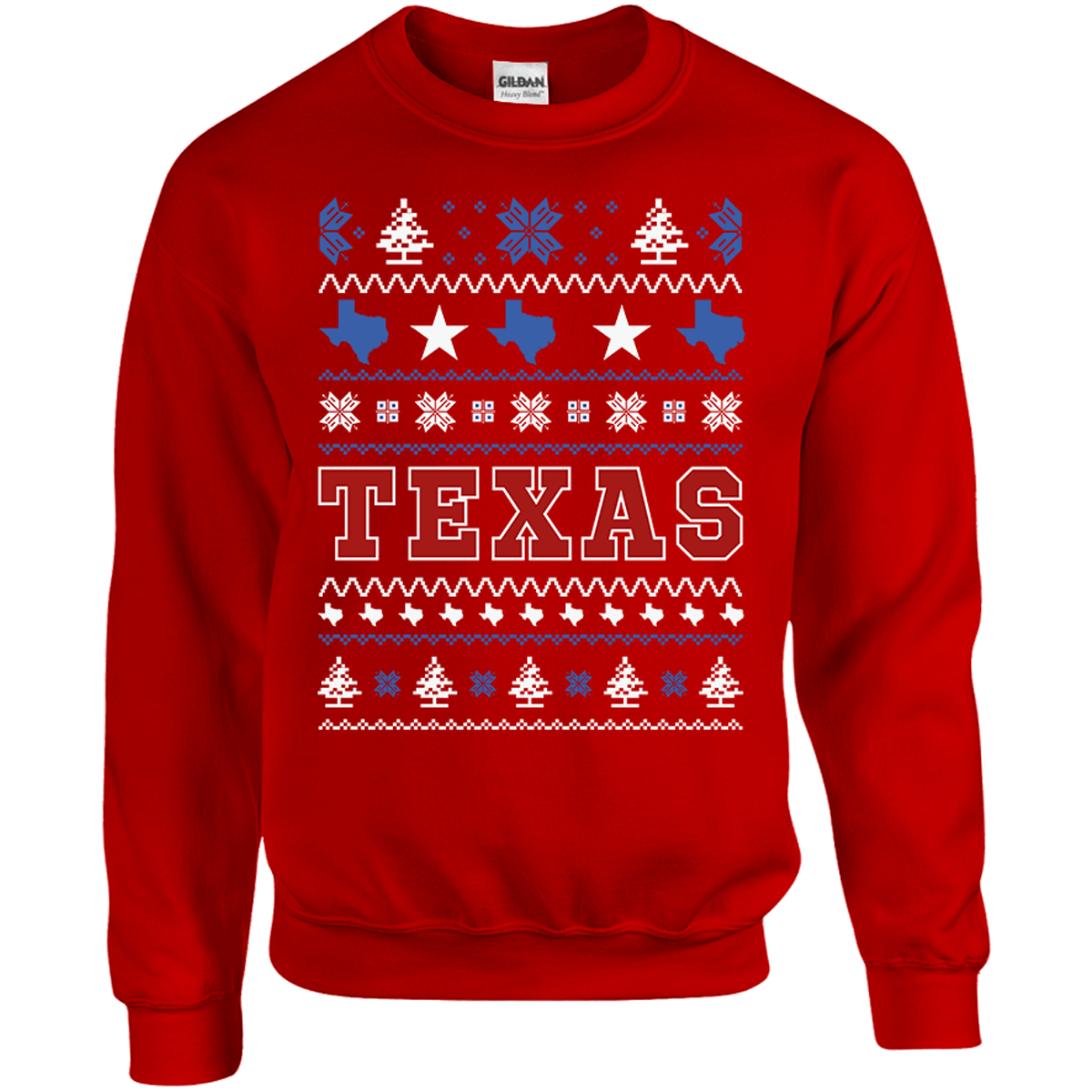 Texas Ugly Christmas Sweater