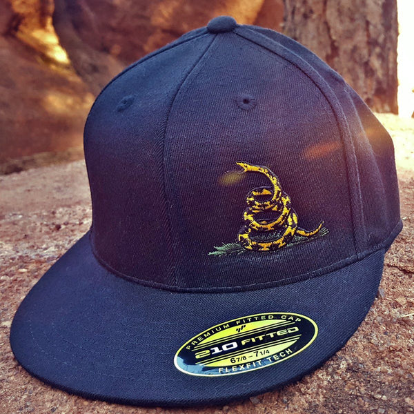 Don't Tread On Me Flatbill Flexfit Hat