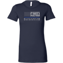 I Back The Blue Women's T-Shirt