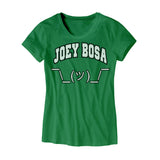 Womens OSU Joey Bosa Shrug Emoji Shirt