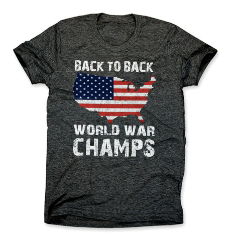 Back to Back World War Champs Shirt