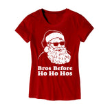 Womens Bros Before Ho Ho Hos T-Shirt