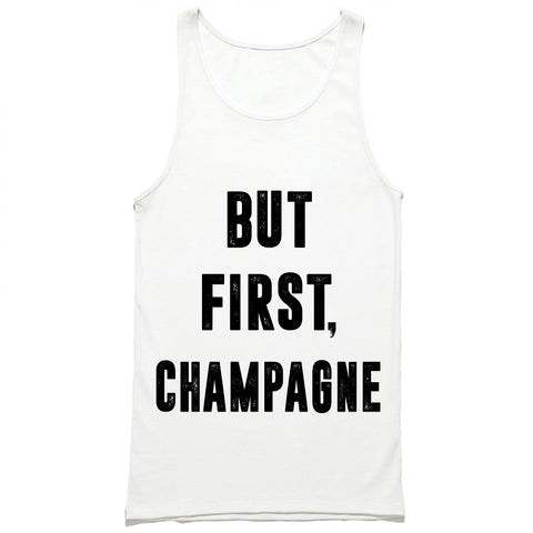 But First Champagne Tank Top