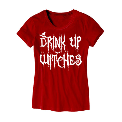 Womens Drink Up Witches T-Shirt