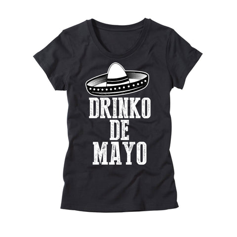 Womens Drinko De Mayo T-Shirt