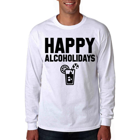 Happy Alcoholidays Long Sleeve T-Shirt