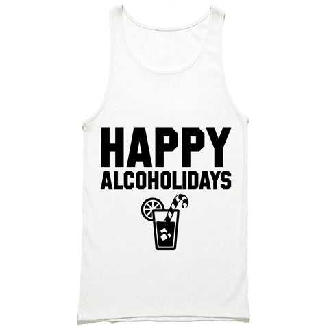 Happy Alcoholidays Tank Top