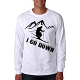 Long Sleeve I Go Down Shirt