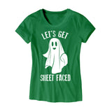 Womens Lets Get Sheet Faced T-Shirt