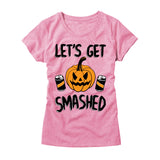 Womens Lets Get Smashed T-Shirt