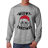 Meowy Christmas Long Sleeve Shirt