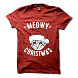 Meowy Christmas Shirt