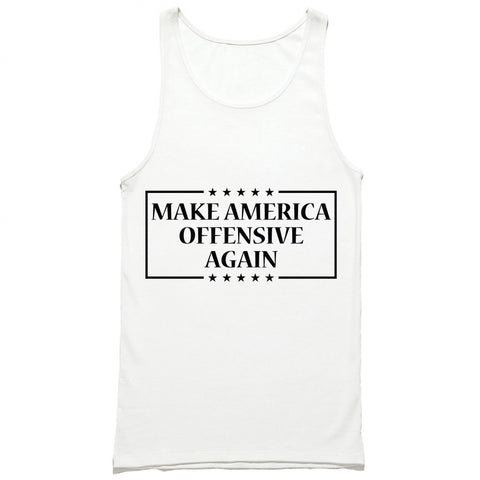 Make America Offensive Again Tank Top