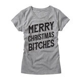 Womens Merry Christmas Bitches T Shirt