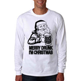 Merry Drunk I'm Christmas Long Sleeve T-Shirt
