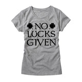 Womens No Lucks Given T-Shirt