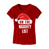 Womens On The Naughty List T-Shirt