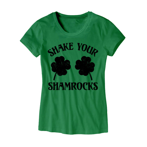 Womens Shake Your Shamrocks T-Shirt