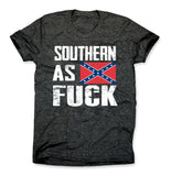 Southern as Fuck Confederate Flag Shirt