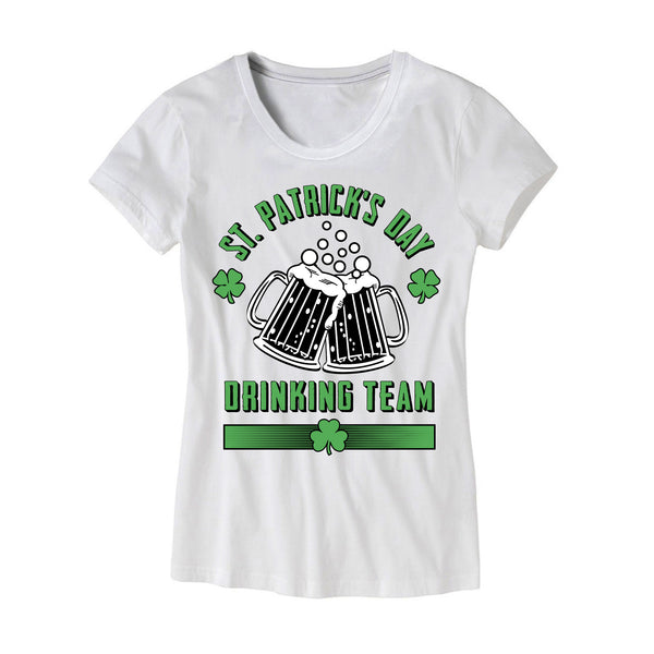 21968de2 Womens St Patricks Day Drinking Team Shirt – HG Apparel