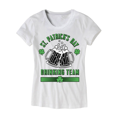 Womens St Patricks Day Drinking Team Shirt