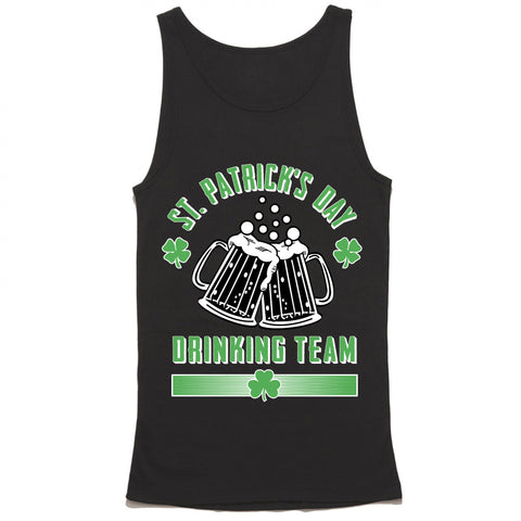 St. Patrick's Day Drinking Team Tank Top