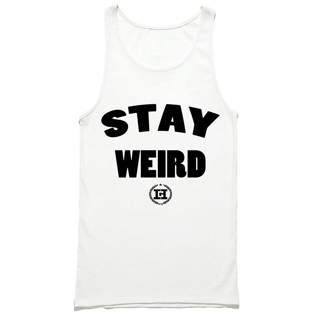 HG Apparel Stay Weird Tank Top
