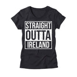 Womens Straight Outta Ireland T-Shirt