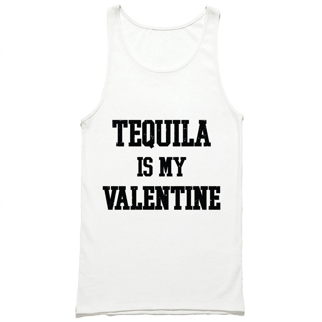 Tequila Is My Valentine Tank Top