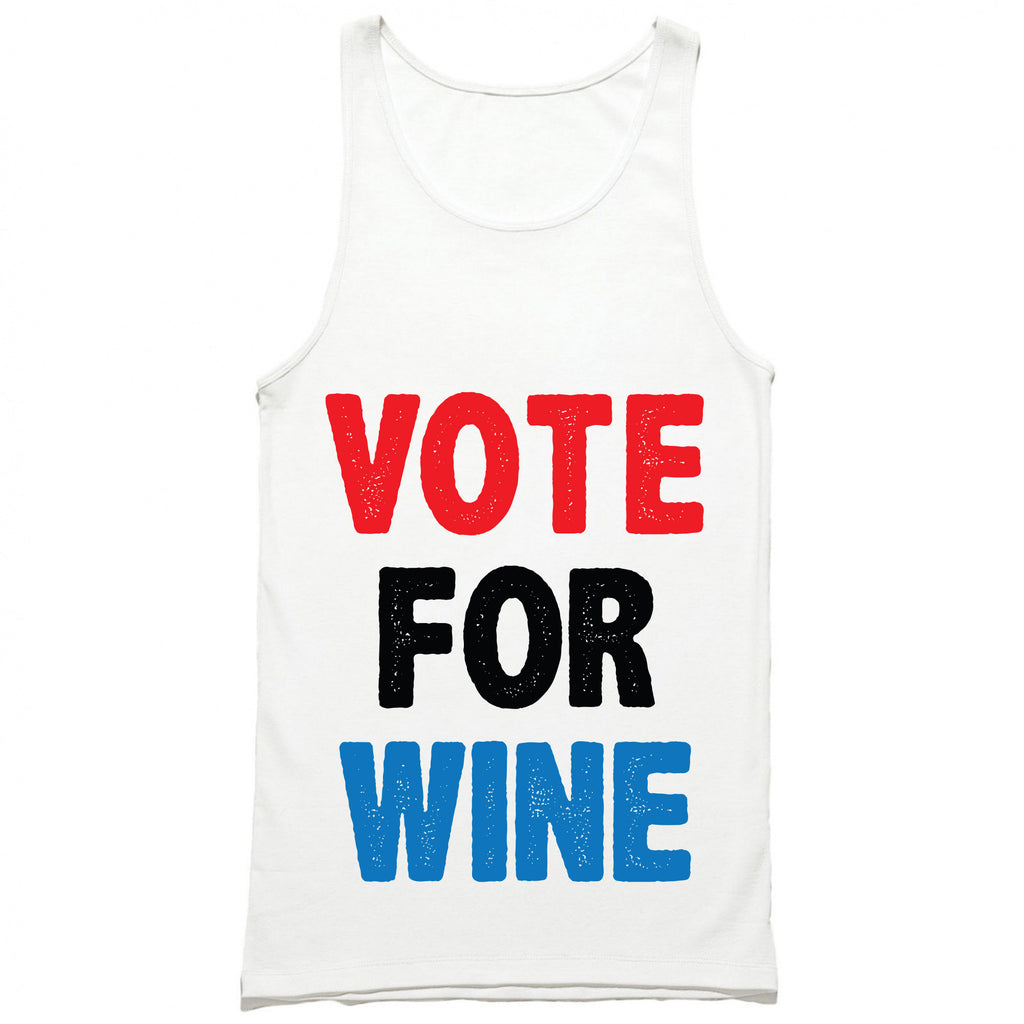 Vote For Wine Tank Top