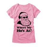 Womens Where My Ho's At T-Shirt