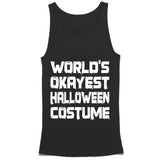Worlds Okayest Halloween Costume Tank Top
