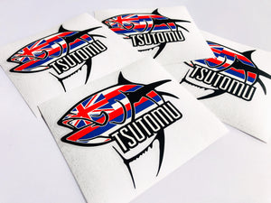 "Hawaiian Ahi Logo 6"" Sticker"