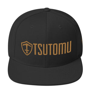 Tsutomu Trooper Snapback Hat: Bronze