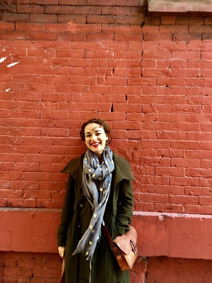 Verunka coordinator of NYC chapter of the Shoebox Project