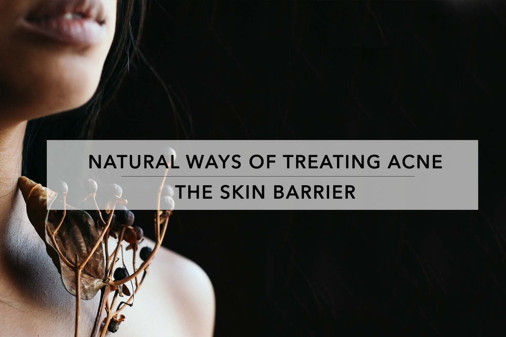 Skin barrier and acid mantle.   Natural Ways to Treat Acne