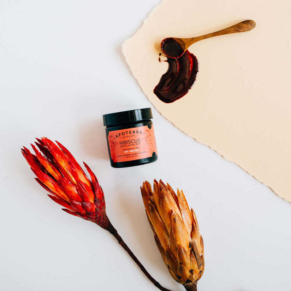 Hibiscus Mud Mask