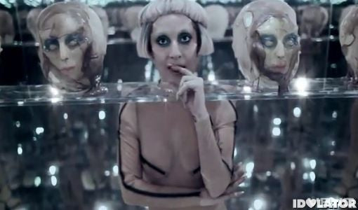 Lady Gaga Alien head