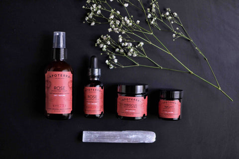apoterra skincare natural beauty corner