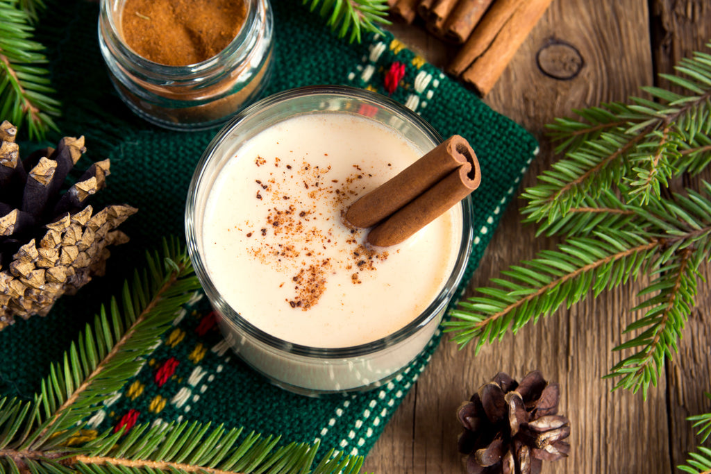 Delicious skin-friendly dairy-free eggnog