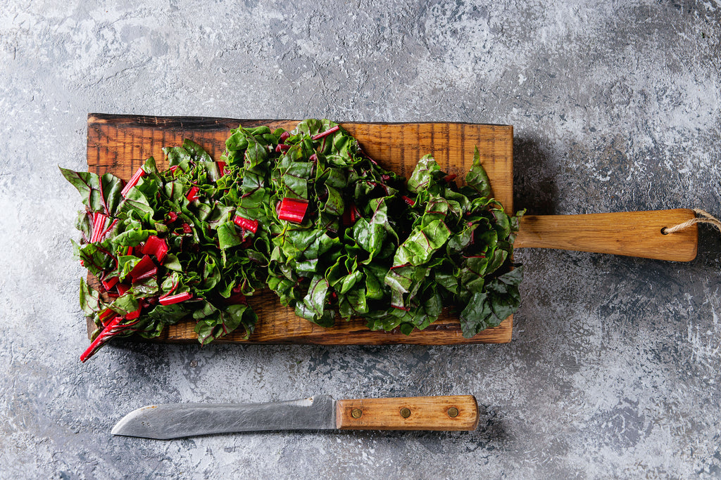 Swiss Chard to boost magnesium levels for hormonal acne