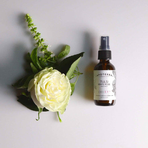 Tulsi and White Rose face mist