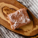 Thumbnail of Aloe and Rose Pink Clay soap bar - Best bar soap for dry skin