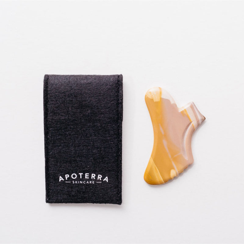 Apoterra x Cecily Braden Gua Sha Tool Kit- Best Gua Sha tool on the market