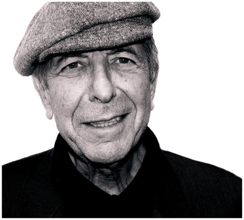 The Songwriter Leonard Cohen, photographed by Paul Zollo